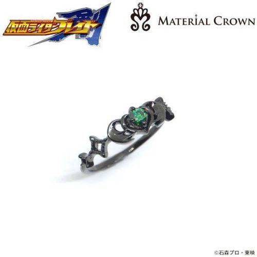 仮面ライダーブレイド×MATERIAL CROWN(マテリアルクラウン)リング ジョーカー