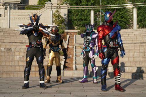仮面ライダービルド『平成ジェネレーションズFOREVER』の新場面写真