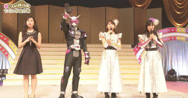 『仮面ライダージオウ』ももいろクローバーZさん達を助け出した一夜限りのショーが無料配信中!