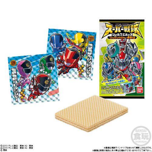 スーパー戦隊 シールウエハース リュウソウジャー登場!編:3月発売