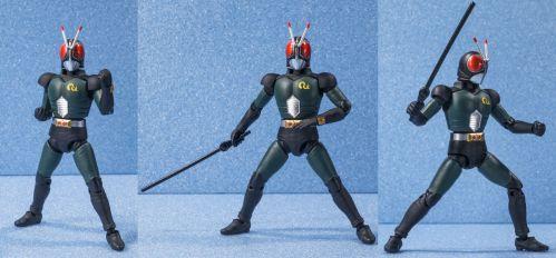 「SHODO-X 仮面ライダー5」仮面ライダーBLACK、RX、バトルホッパー、アクロバッターの試作品画像が公開!