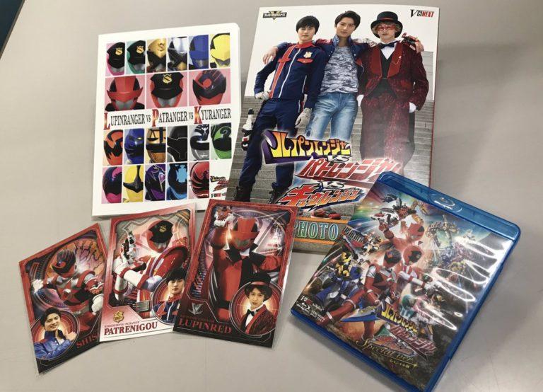 『ルパンレンジャーVSパトレンジャーVSキュウレンジャー』BD特典フォトブックやカードセットが公開!
