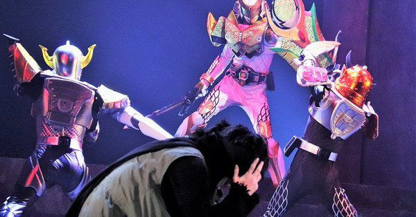「舞台『仮面ライダー斬月』-鎧武外伝-」ゲネプロの動画が公開!斬月、鎧武、バロン、龍玄、グリドン、ブラーボが登場!