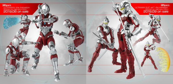 「S.H.Figuarts ULTRAMAN -the animation-」が4月8日予約開始!ULTRAMANが8月、ULTRAMAN SUITS ver.7が9月一般発売!