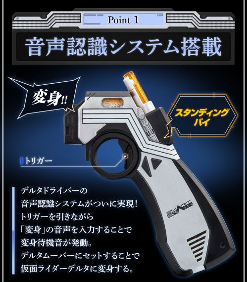 仮面ライダー555「CSM デルタギア」