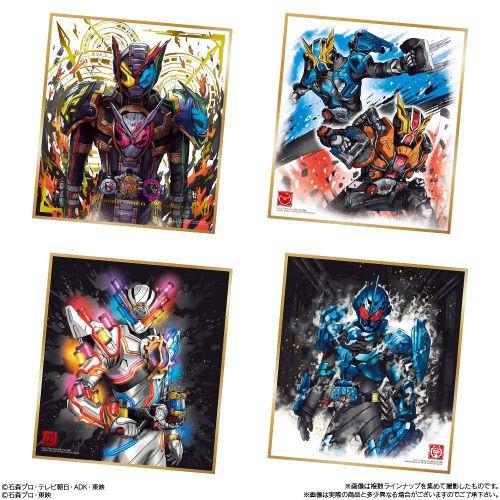 「仮面ライダー 色紙ART3」が4月22日発売!全16種の画像が公開