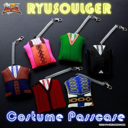 『騎士竜戦隊リュウソウジャー』衣装型マスコットパスケース