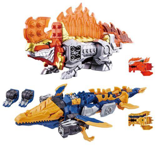 騎士竜シリーズ06&07 DXスピノサンダーセット