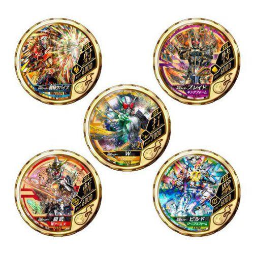 「仮面ライダー ブットバソウル MEDAL COLLECTION GOLD 3」が1月発送