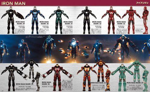 12月4日発売「アベンジャーズ マーベルヒーロー超全集」のマーク1~85を完全収録したアイアンマンのページや誌面の一部が公開!