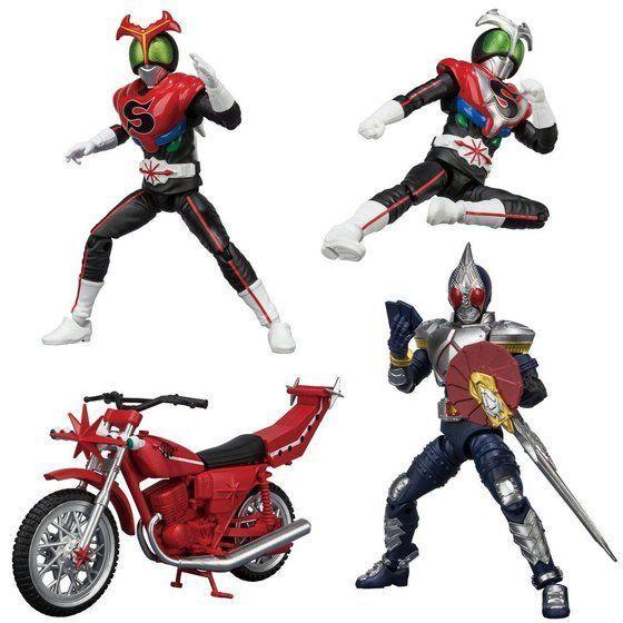 「SHODO-X 仮面ライダー8」が11/19予約開始!仮面ライダーブレイド&ストロンガー、チャージアップ、カブトロー!