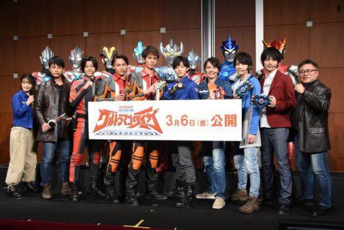 『劇場版 ウルトラマンタイガ ニュージェネクライマックス』が3月6日公開!ニュージェネレーションヒーローズ全員集合!