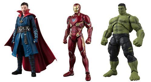 S.H.Figuarts再販!Avengers: Infinity War ドクター・ストレンジ、Iron Manマーク50、ハルク!ウルトラマンジード、オーブ!