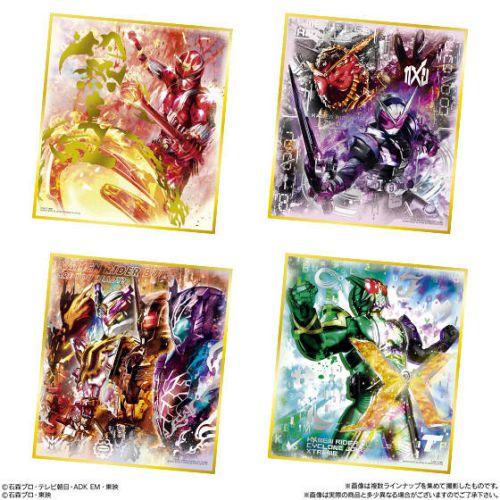 3月発売「仮面ライダー色紙ART 極彩」は全16種が「メタリック素材+箔押し加工」という超豪華仕様
