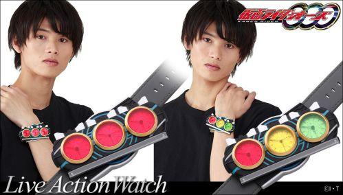 仮面ライダーオーズ「変身!腕時計【Live Action Watch】」