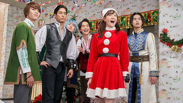 『騎士竜戦隊リュウソウジャー』第39話あらすじ。シャケから1年こんどのクリスマス回は正月!アスナとオトちゃんがサンタ姿に!