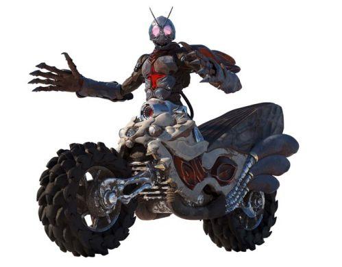 『仮面ライダー 令和 ザ・ファースト・ジェネレーション』に「アナザー1号」が登場!コアみたいなバイクと合体した姿!