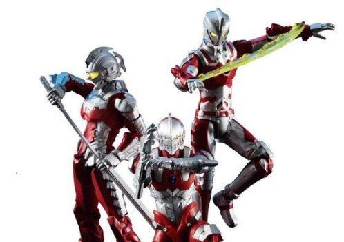 「超動 HERO'S ULTRAMAN」が4月発売!ULTRAMAN、SEVEN、ACE、技エフェクトなどが付属の拡張パーツセット