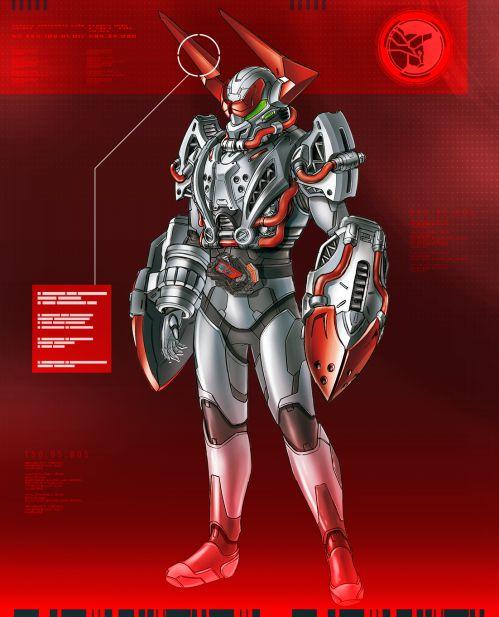 仮面ライダーゼロワン「クラッシングバッファローレイダー」のデザイン画が公開!打突武器バッファブロウ&角レッドブルーザー!