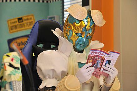 『魔進戦隊キラメイジャー』第2話にルパパト・一ノ瀬詩穂先生のマンガ「グッドスリー」が登場