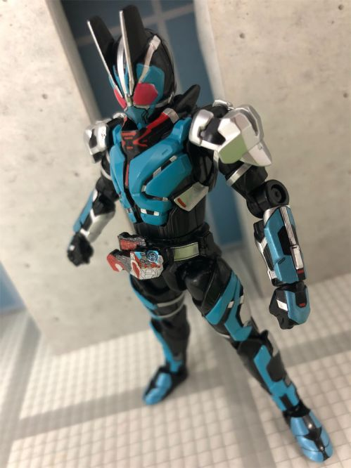 「装動 仮面ライダーゼロワン AI 07」に仮面ライダー1型