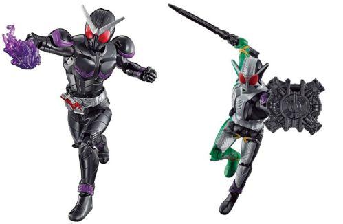 RKF「仮面ライダージョーカー」と「仮面ライダーW サイクロンジョーカーエクストリーム」の画像が公開!プリズムビッカーが付属