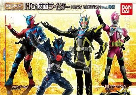 「HG仮面ライダー NEW EDITION Vol.03」が10月発売