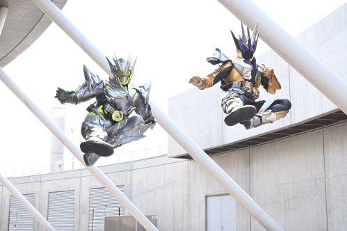『仮面ライダーゼロワン』第39話でゼロワンとサウザーのダブルライダーキックがさく裂!