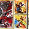 9月7日発売「仮面ライダー 色紙ART7」