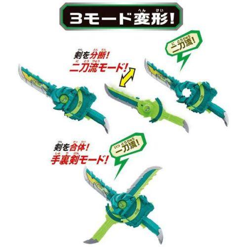 仮面ライダーセイバー「変身聖剣 DX風双剣翠風」が10月10日発売!