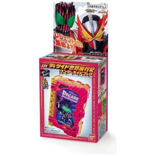 仮面ライダーセイバー「DXディケイド世界旅行記ワンダーライドブック」が10月10日発売