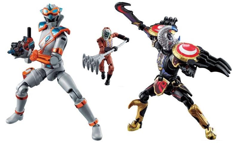 魔進戦隊キラメイジャー「勇動X2」が10月26日発売!キラメイシルバー、ガルザ、ベチャット、アイテムパーツセット!