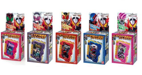 『仮面ライダーセイバー』レジェンドライダーのDXワンダーライドブックが続々発売!ディケイド、ジオウ、クウガ、エグゼイド…!
