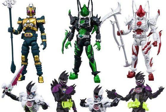 「SHODO-O 仮面ライダー5」が3月発売!ゲンム祭り、ジョーカー、アルビノジョーカー、レンゲルの全7種!13時予約開始