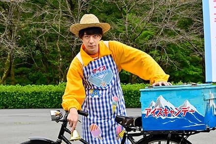 『魔進戦隊キラメイジャー』第35話にアイス屋のお兄さん役で松本寛也さんが出演