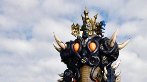 『魔進戦隊キラメイジャー』ついに地上に出現した「ヨドン皇帝」!その声は『仮面ライダー剣』烏丸所長の山路和弘さん!