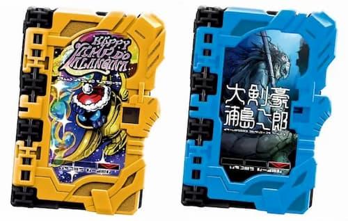 仮面ライダーセイバー「ワンダーライドブックSG05」が12/14発売!伝説の大剣豪浦島二郎やハッピーランプドアランジーナ他全6種