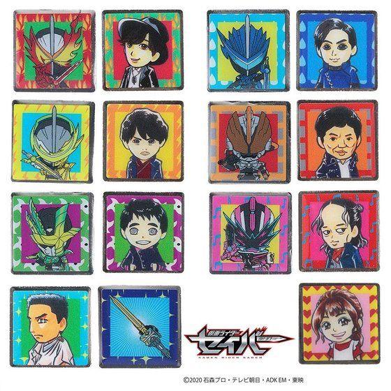 『仮面ライダーセイバー』第31章で芽依ちゃんがみんなにプレゼントしたピンズがプレバンに登場!