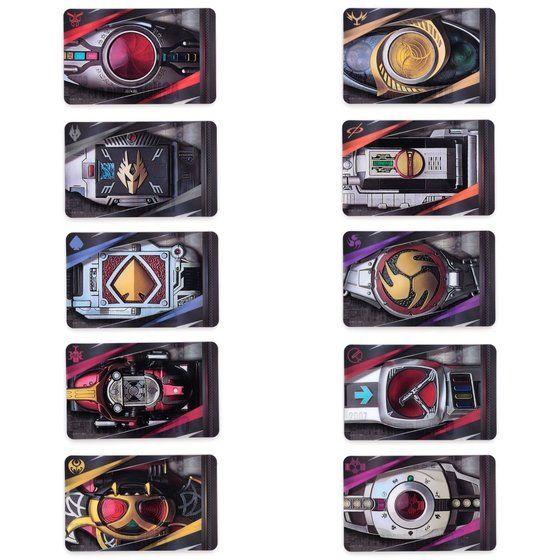 【ハピクロ】仮面ライダーシリーズ -THE HENSHIN BELT(第一弾)- PIICA+クリアパスケース