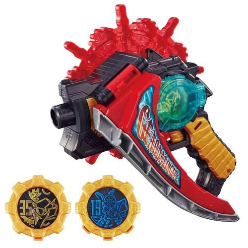 機界戦隊ゼンカイジャー「ツーカイザー」のおもちゃ「界賊変身 DXギアダリンガー」やオーレン&シンケンフォームセットが4/24発売