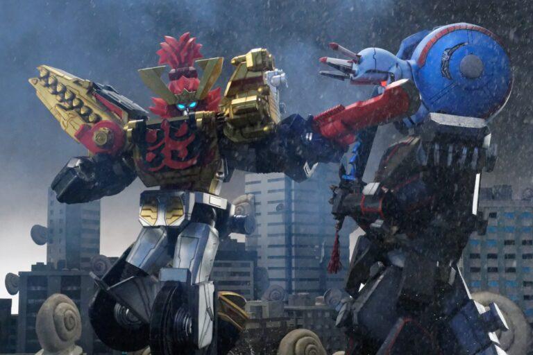 『機界戦隊ゼンカイジャー』第12話にツーカイオーが初登場!逆襲のステイシーも新ロボ・バトルシーザーロボを引っ提げ撃進!