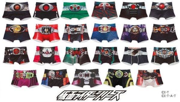 仮面ライダーシリーズ  なりきりボクサーパンツ