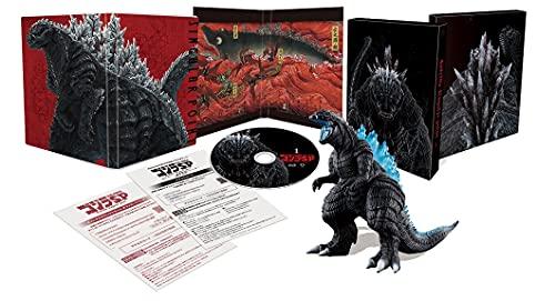 『ゴジラ S.P<シンギュラポイント>』Blu-ray&DVD 第1巻の完全数量限定版は「ムービーモンスターシリーズ ゴジラウルティマ-ゴジラS.P- 熱線放射ver.」同梱