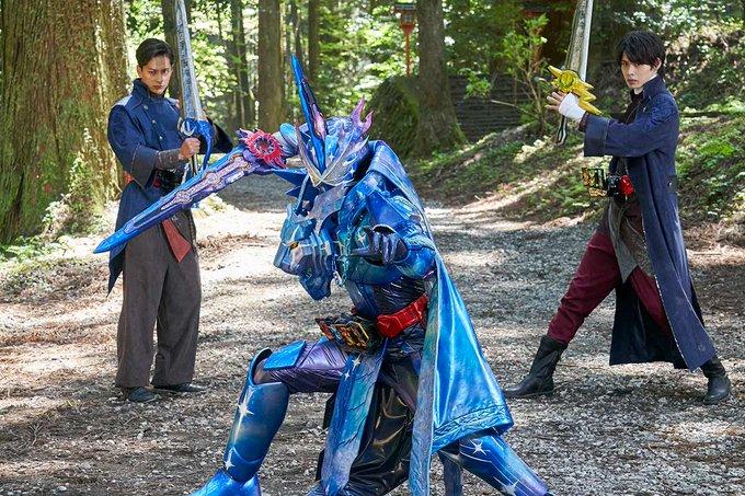 『仮面ライダーセイバー』第40話「輝く友情、三剣士。」