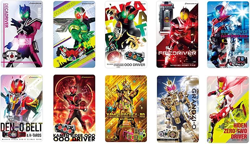 「仮面ライダー 変身サウンドカード(10種セット)」が8月発売