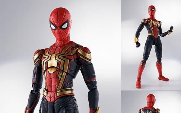 『スパイダーマン:ノー・ウェイ・ホーム』S.H.Figuarts インテグレーテッドスーツ、アップグレードスーツ、【特典】ブラック&ゴールドスーツほか16時予約開始!