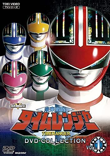 『未来戦隊タイムレンジャー』廉価版DVD-COLLECTION全2巻が1/12発売